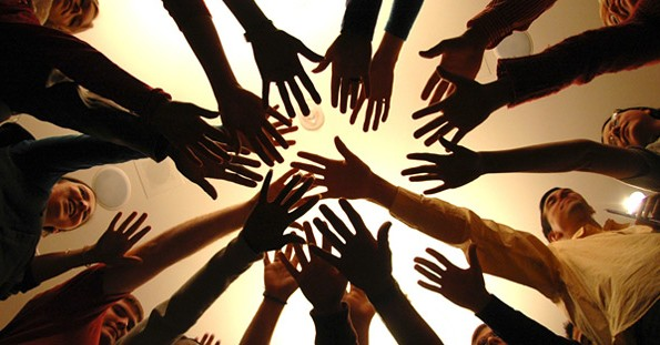 ecumenical hands